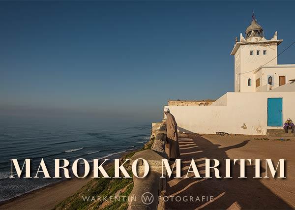 """Fotokalender """"Marokko Maritim"""", Titelblatt der deutschen Version"""